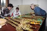 Velikonoční zvyky a výstava kraslic v prostorách obecního úřadu v Hovězí