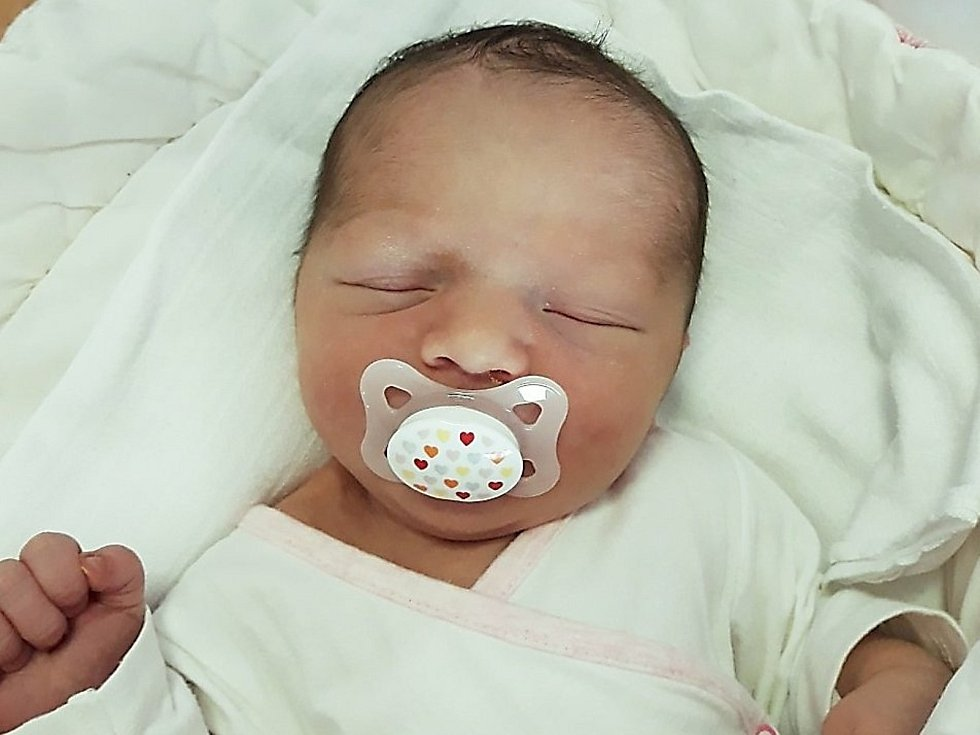 Adina Balko, Hranice, narozena 22. listopadu 2020 ve Valašském Meziříčí, míra 50 cm, váha 3560 g