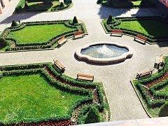 Park zámku Žerotínů. Ilustrační foto.