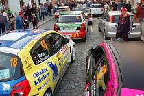 Valašská rally 2012 - zácpa