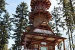 Na Karlově kopci  slavnostně otevřeli novou Jurkovičovu rozhlednu.