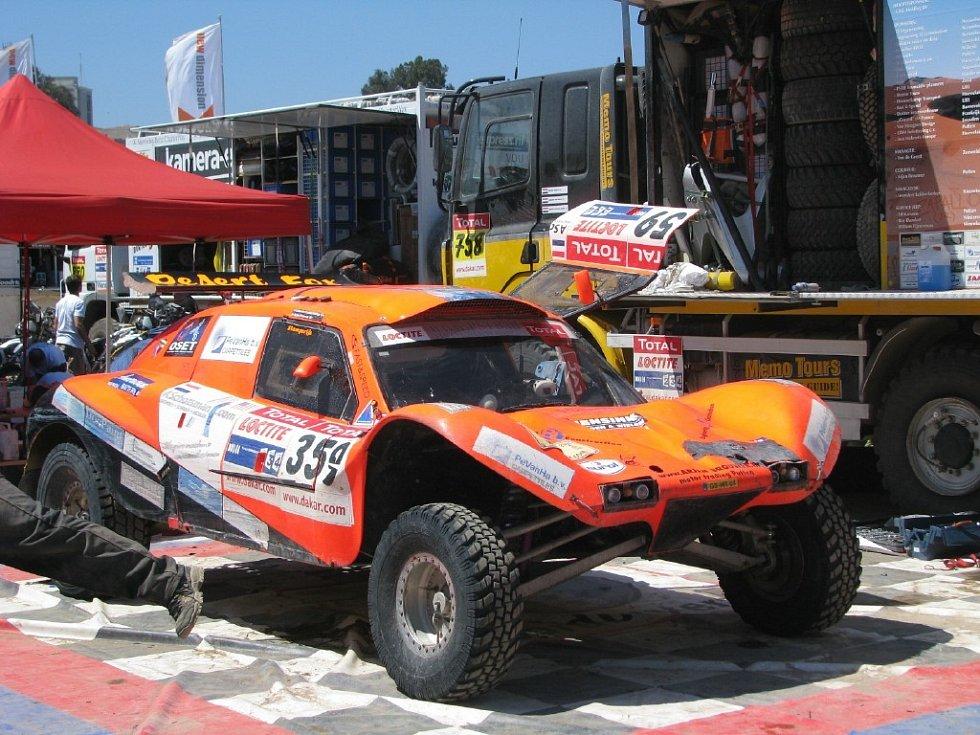 Rally v Chile
