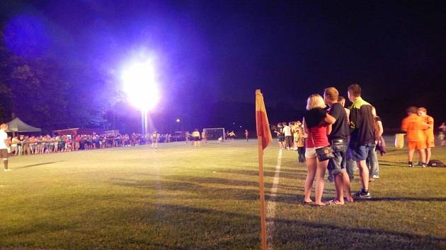 Noční turnaj ve Valašské Senici
