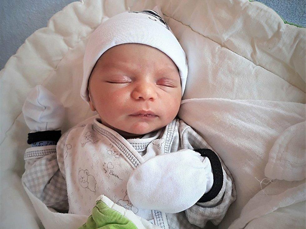 Tommy Sendrej, Bučovice, narozen 11. května ve Valašském Meziříčí, míra 49 cm, váha 2900 g