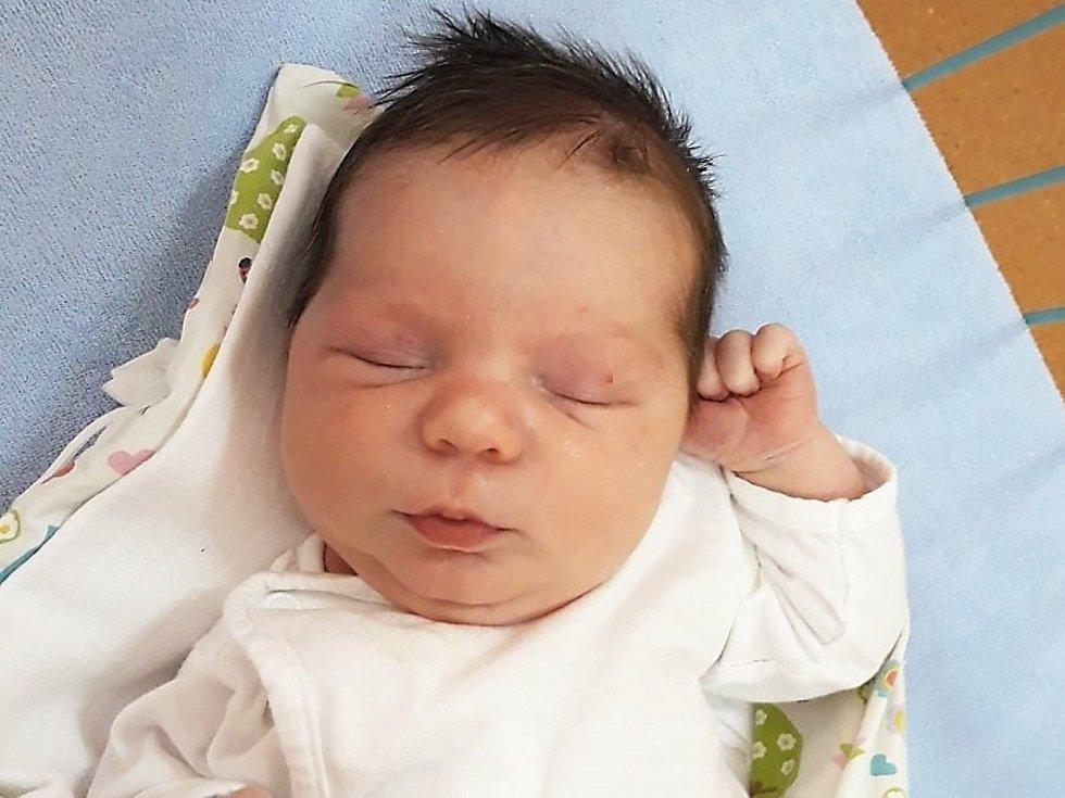 Eliáš Konečný, Podhradní Lhota, narozen 7. ledna 2021 ve Valašském Meziříčí, míra 51 cm, váha 4000 g