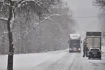 Kopec Sirákov na pomezí Valašska a Zlínska v zimě. Ilustrační foto