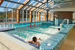 Bazény wellness hotelu Horal