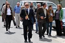 Do Valašské Polanky dorazila ve středu 22. května 2013 hodnotící komise soutěže Vesnice roku 2013.
