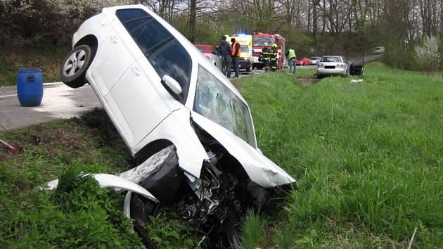 Nehoda mezi obcemi Poličná a Branky
