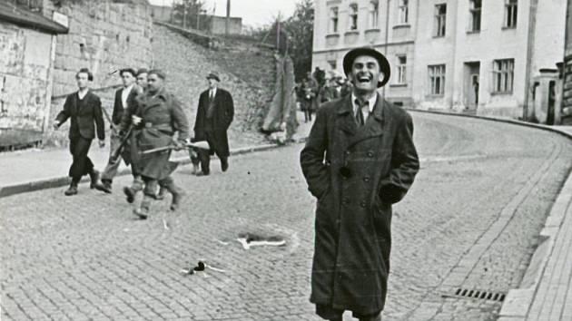 Upřímná radost vsetínského občana z osvobození.