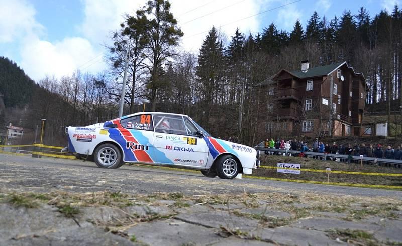 36. ročník Janča Valašské rally, neděle 26. března.