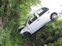 Nehoda u Dolní Bečvy