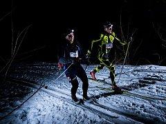 Noční stopu Valachy vyhráli Jan Bartoň a Šárka Grabmüllerová.