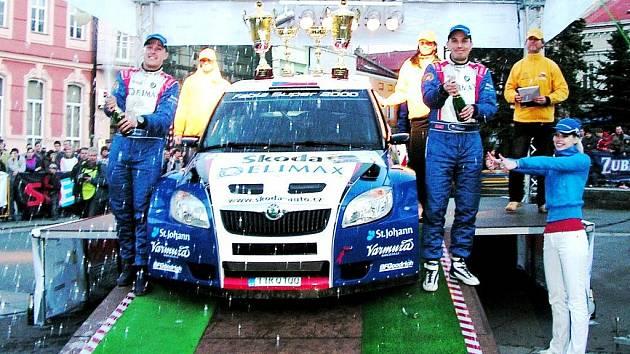 Posádka Valoušek - Hrůza vyhrála Valašku 2010. Jak to dopadne letos ?
