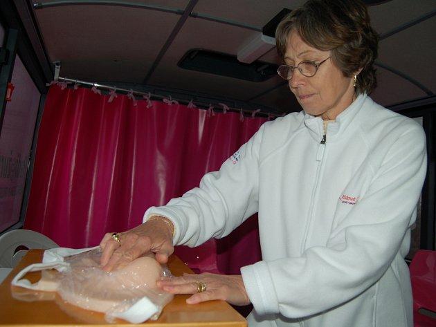 Růžový autobus přijel do Valašského Meziříčí