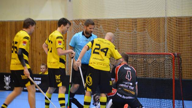 1. florbalová liga mužů Rožnov pod Radhoštěm - Ústí nad Labem