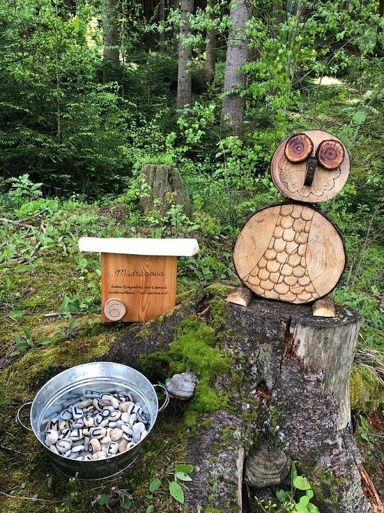 Stezka portáše Maliny za lesní zvěří