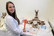 Studentky SOŠ Josefa Sousedíka získaly stříbro a bronz na světovém poháru kuchařů a cukrářů v Lucembursku. Dominika Gutová si za Motýlí promenádu přivezla bronzovou medaili.