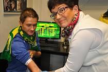 Kampaň Hokej na dřeň, jejímž cílem je získat další dobrovolníky k zápisu do registru dárců kostní dřeně, se na vsetínském stadionu Na Lapači uskuteční 17. února 2018.