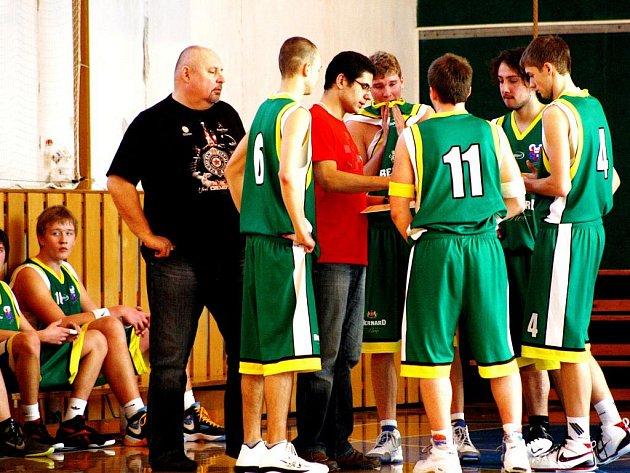 Basketbalisté Valašského Meziříčí U20.
