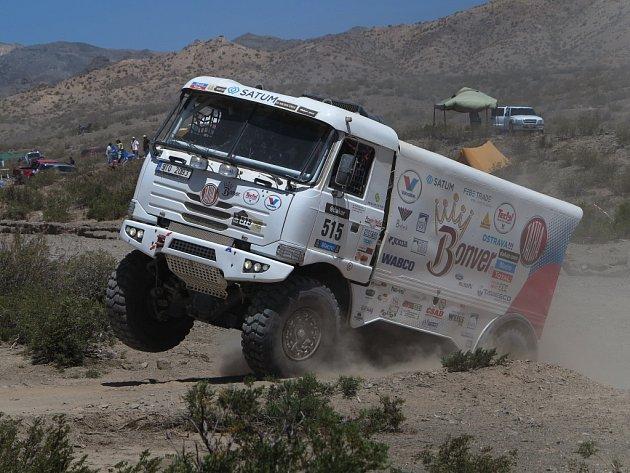 Tatrovky patří každoročně při Rallye Dakar k horkým favoritům.