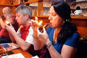 17. mistrovství Valašska v pomalém kouření dýmky ve Valašském Meziříčí