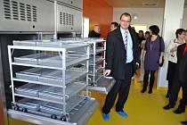 Slavnostní otevření provoz rekonstruované centrální sterilizace ve Vsetínské nemocnici, a. s.; Vsetín.