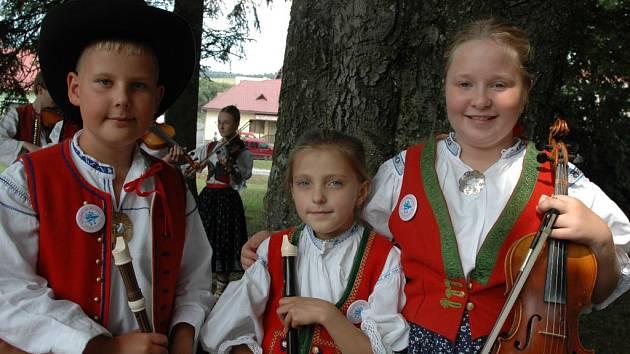 Dětský folklorní den v Liptále. Ilustrační foto.