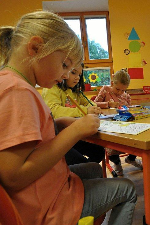 Do přípravné třídy v Základní škole Huslenky nastoupilo 1. září školního roku 2021/2022 šestnáct dětí.