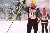 Vsetínský dálkový běžec na lyžích Jan Talaš.