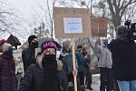 Pochod za Bečvu ve Valašském Meziříčí, 20. února 2021