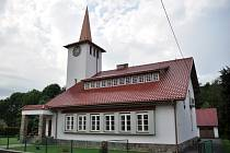 Evangelický kostel; Kateřinice, úterý 27. května 2014.
