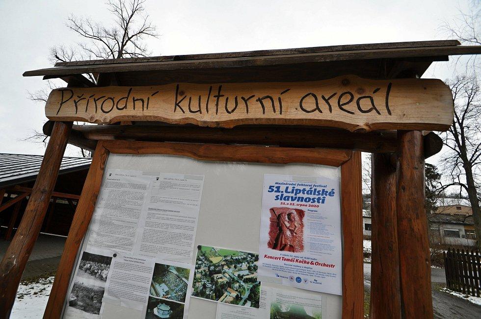 Přírodní kulturní areál v Liptále na Vsetínsku.