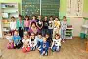 ZŠ Ratiboř - 1. třída, učitelka Milada Valová