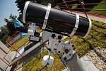 Nový dalekohled valašskomeziříčské hvězdárny