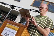 Kazatel Apoštolské církve Daniel Ott.