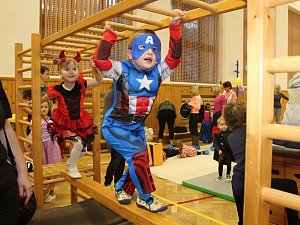 Tradiční dětský karneval ve Vsetíně