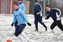 Špatné počasí zatím nedovolilo odstartovat vsetínskému okresnímu fotbalu jarní část.