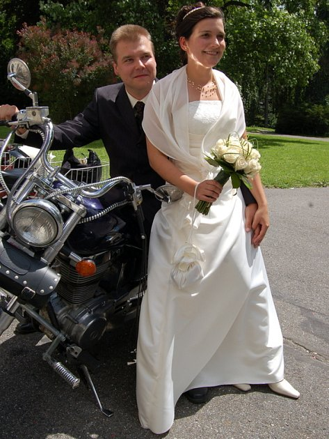 Novomanželé Fialovi