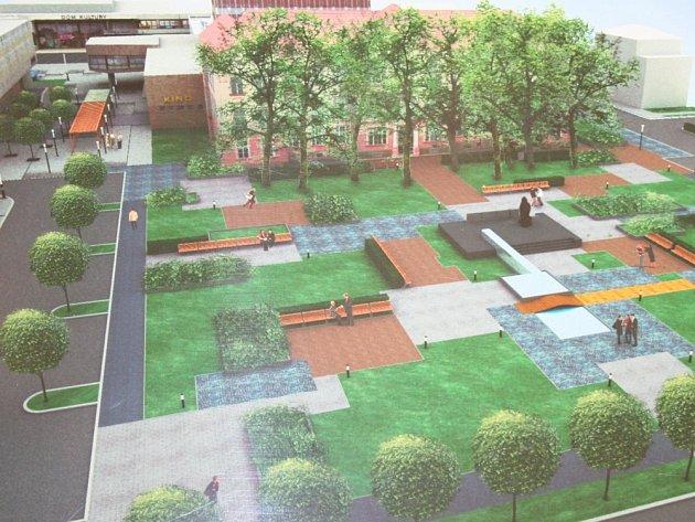 Lidé mohou hlasovat o podobě náměstí