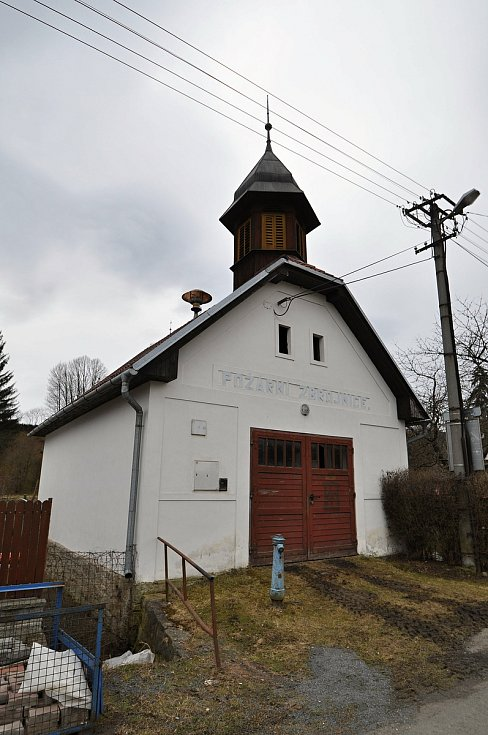 Hovězí - historická hasičská zbrojnice