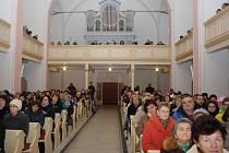 Evangelický kostel v Ratiboři. Ilustrační foto.