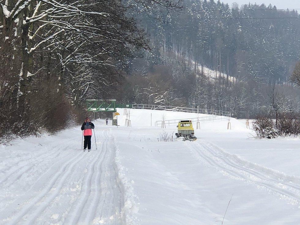 Povedená zima láká běžkaře