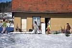 Masopustní obchůzka ve Střelné na Hornolidečsku