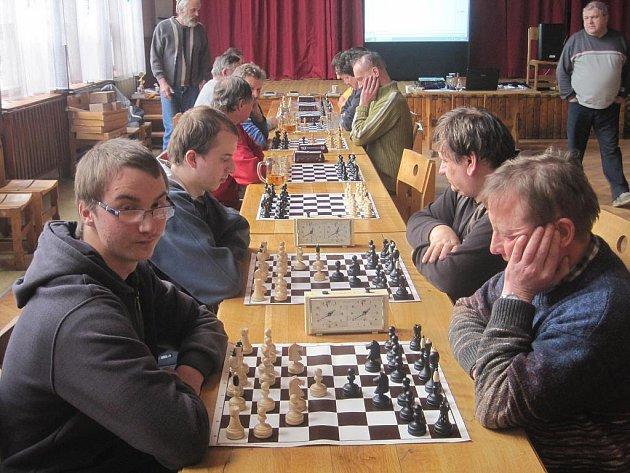 Šachový turnaj obcí Hornolidečska