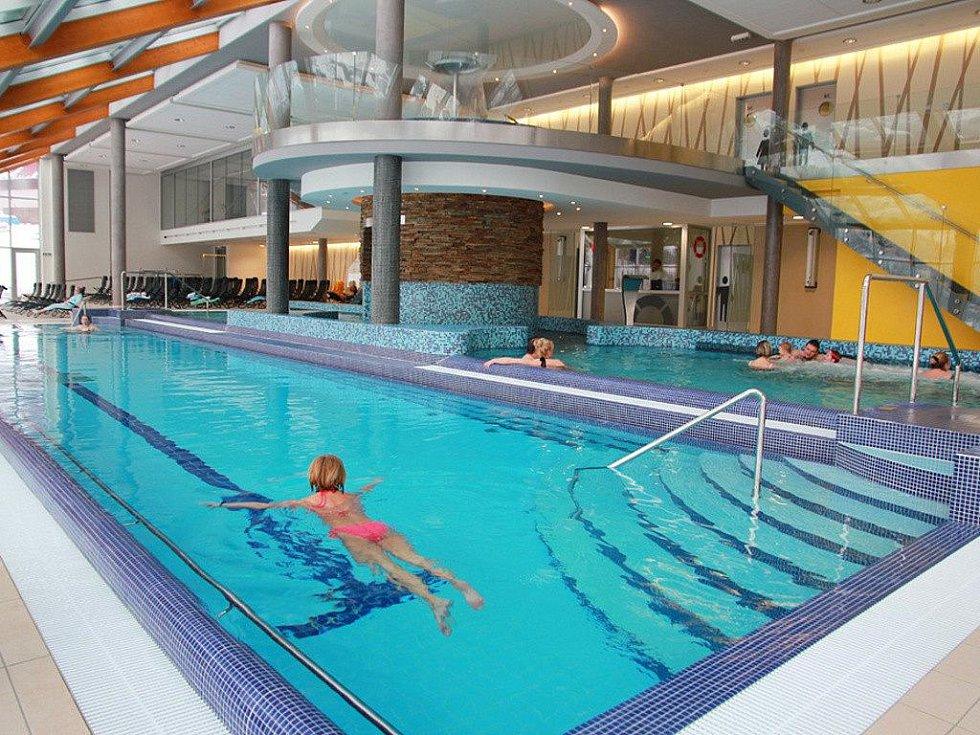 Termální bazén v Horalu