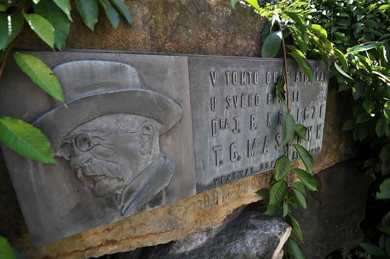 Valašské Meziříčí - památník T. G. Masaryka