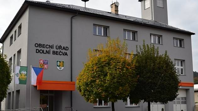 Obecní úřad v Dolní Bečvě; Ilustrační foto.