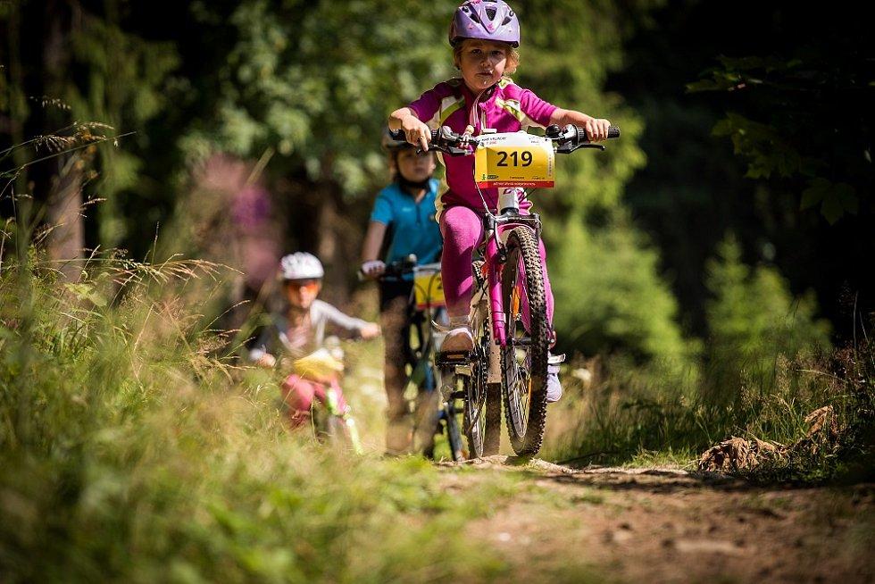 Bike Valachy. Dětský závod.