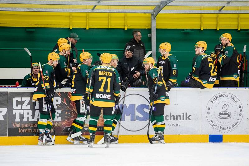 Hokejisté Vsetína v neděli proti Vrchlabí odehráli šestý zápas čtvrtfinále play-off.